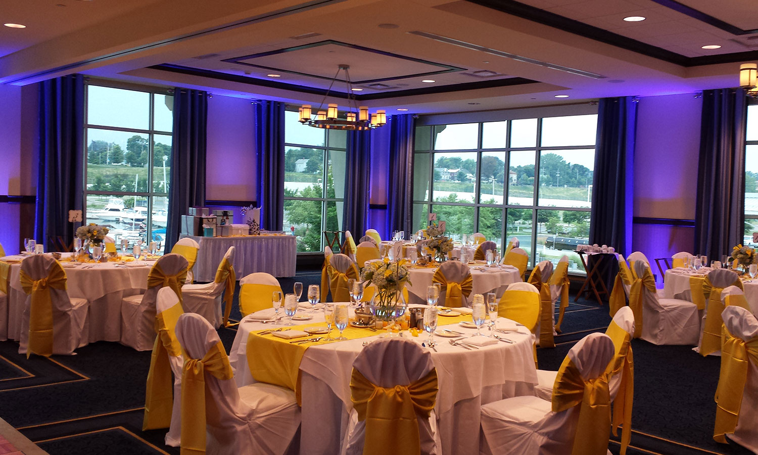 Contact Us Today For Erie PA Uplighting Rental Information 814 459 5921 Reception Wedding
