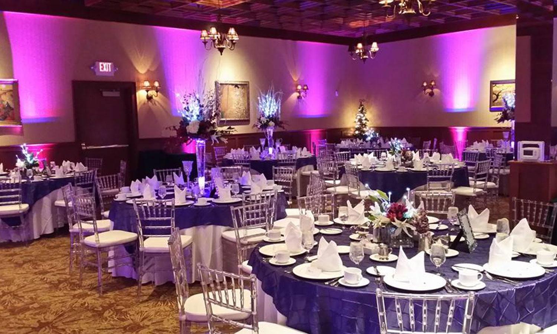 Wedding Uplighting Rental In Erie Pa Dynamic Sounds Djs
